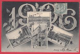 CPA *54 * NANCY * 1906 * Florilège Multi-vues ** * VOIR Scann Recto/verso - Nancy