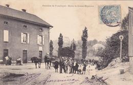 Carte Postale, Route De Grosse Moyeuvre, Frontière De Franchepré, Joeuf - France