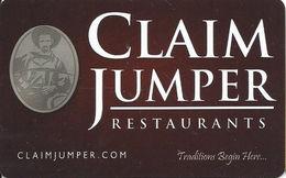 Claim Jumper Restaurants Gift Card - Gift Cards