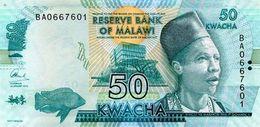 MALAWI 50 KWACHA 2016 P-64c UNC [MW157c] - Malawi