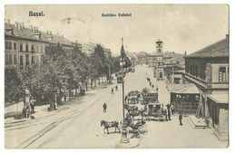 Basel Badischer Bahnhof 1906 - BS Bâle-Ville