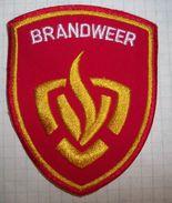 Arm (sleeve) Patch Netherlands Firemen - Pompieri