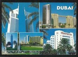 United Arab Emirates UAE  Dubai Postcard 5 Picture Dubai Buildings  Post Card - Dubai
