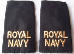 Royal NAVY Epaulets - Pair - Uniformes