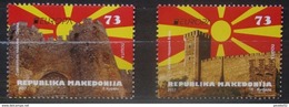 MACEDONIA 2017 EUROPA Castles  Skopje And Ohrid Set MNH - Mazedonien