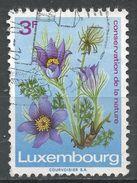 Luxembourg 1970. Scott #485 (U) Pasqueflower, Fleurs - Luxembourg