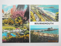 Postcard Bournemouth Multiview Pier By John Hinde My Ref  B11687 - Bournemouth (ab 1972)