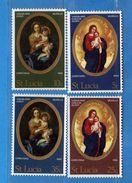 (Mn1) SANTA LUCIA - 1968 **- NOEL  -Yv. 235 à 238  - MNH. . Vedi Descrizione - St.Lucia (1979-...)