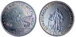 01847 GETTONE TOKEN JETON FICHA VATICAN CITY ANNO SANCTO MCMLXXV PAULUS VI ET ORBIS MAGNA CUM CONCORDIA VOCAVIT P - Unclassified