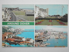 Postcard Around Dover Kent Multiview My Ref  B11689 - Dover