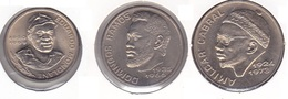 Cape Verde - Set Of 3 Commemorative Coins 1980 - UNC - Cape Verde