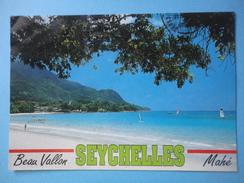 The Famous Breau Vallon Beach - Mahe - Seychelles - Storia Postale Seychelles Veliero 1721 Vierge Du Cap R1.50 1998 - Seychelles