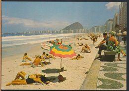 °°° 8446 - RIO DE JANEIRO - PRAIA DO COPACABANA - 1963 °°° - Rio De Janeiro