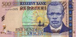 MALAWI 500 KWACHA 2011 P-56b UNC [MW148c] - Malawi