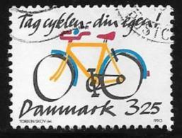 Denmark, Scott # 930 Used Bicycle, 1990 - Denmark