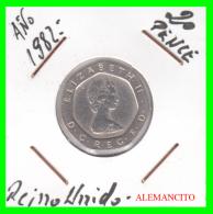 GRAN BRETAÑA     MONEDA DE  20 PENCE .    AÑO 1982 - 1971-… : Monedas Decimales