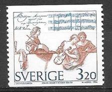 1994 Johan Roman Composer MNH - Sweden