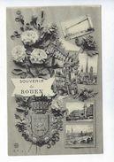 CPA Souvenir De Rouen Vues Multiples C.V. N° 4 - Rouen