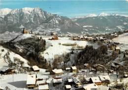 MONT SAXONNEX Vue Generale Au Fond La Chaine Du Mont Blanc 5(scan Recto-verso) MA2024 - France