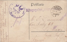 WW1 - Carte Postale D Un Prisonnier De Guerre Du Camp De SAGAN- L 2051 - Marcophilie (Lettres)