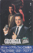 RR TRES RARE Télécarte Japon - COCA COLA GEORGIA - CINEMA - TWIN PEAKS - COKE Coffee Japan TV Movie Phonecard  - 4110 - Kino