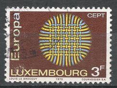 Luxembourg 1970. Scott #489 (U) Europa CEPT - Luxembourg
