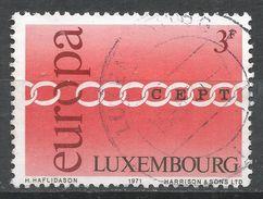 Luxembourg 1971. Scott #500 (U) Europa CEPT - Luxembourg