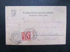 POSTKARTE Zabreh - Landskron Strafporto 1915//  D*27379 - 1850-1918 Imperium