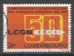 Luxembourg 1971. Scott #502 (U) Christian Workers Union - Luxembourg