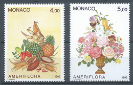 Monaco YT N°1830/1831 Exposition Ameriflora Colombus Neuf ** - Neufs