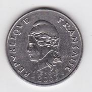 Polynésie Française - Pièce De 50 FCFP - 2003 - TTB à SUP - French Polynesia