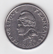 Polynésie Française - Pièce De 50 F CFP - 2005 - SUP+ - French Polynesia