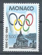 Monaco YT N°1937 Comité International Olympique Neuf ** - Neufs