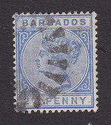 Barbados, Scott #62, Used, Victoria, Issued 1882 - Barbados (...-1966)
