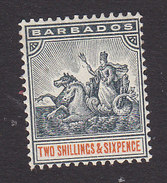 Barbados, Scott #79, Mint Hinged, Badge Of The Colony, Issued 1892 - Barbados (...-1966)