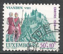 Luxembourg 1969. Scott #B270 (U) Vianden Castle - Luxembourg