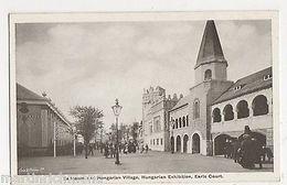 Ballroom & Hungarian Village, Hungarian Exhibition Earls Court Postcard, B548 - Expositions