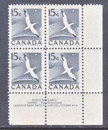 CANADA  343  **  FAUNA  BIRD - 1952-.... Reign Of Elizabeth II