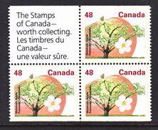 CANADA  1363 A  **   TREE  FLOWERS - 1952-.... Reign Of Elizabeth II