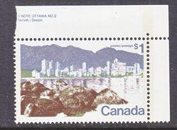 CANADA  599    **   HARBOR - Unused Stamps