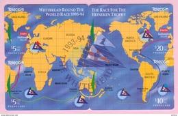 New Zealand - 1994 Whitebread Yacht Race Set (4) - Puzzle - NZ-G-78/81 - Very Fine Used - Neuseeland
