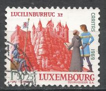 Luxembourg 1969. Scott #B271 (U) Lucilinburhuc Castle - Luxembourg