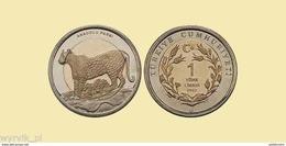 TURKEY 2012 1 Lira LEOPARD UNC - Turchia