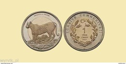 TURKEY 2012 1 Lira LEOPARD UNC - Turquie