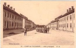 Camp Du Valdahon Allée Principale - France