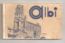 Albi-carnet De 12 Cartes Postales-(C.1090) - Albi