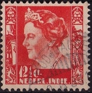 Ned. Indië: MODJOAGOENG (440) Op 1934-37 Koningin Wilhelmina 12½ Ct Lichtoranje NVPH 196 - Indes Néerlandaises