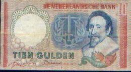 PAYS-BAS – 10 Gulden – 23.03.1953 - [2] 1815-… : Royaume Des Pays-Bas