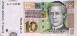 CROATIE  – 10 Kuna 2001 - Croatie