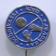 Volleyball, Pallavolo - OK VUKOVAR, Croatia, Vintage Pin Badge, Abzeichen - Volleyball